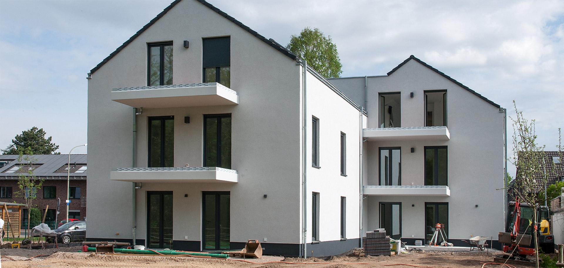 Neubau Donatusstrasse Header